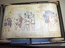 Yeşu Rulosu, 10. yüzyıldan kalma Yunanca el yazmasıdır ve büyük ihtimalle Konstantinopolis'te kaleme alındı (Vatikan Kütüphanesi, Roma).