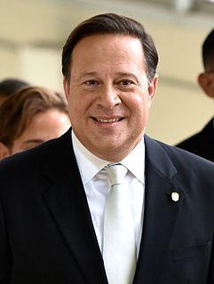Juan Carlos Varela 37th president of Panama