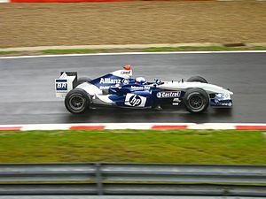 Williams FW26 - Image: Juan Pablo Montoya 2004 Belgium
