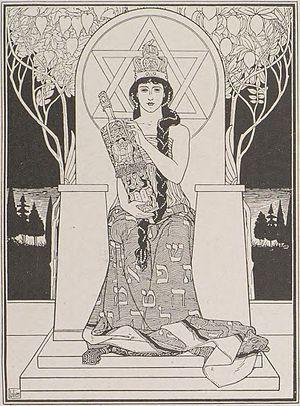 Ephraim Moses Lilien - Image: Juda 13