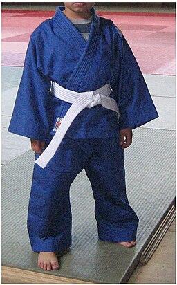 Judogi Azul