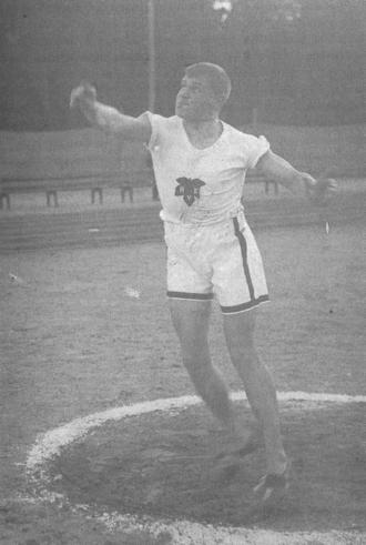 Juho Halme - Juho Halme in the uniform of Helsingin Kisa-Veikot