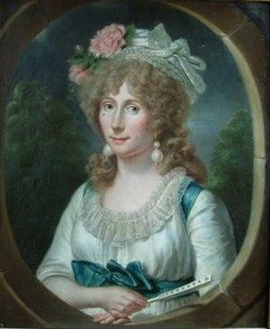 Amélie-Julie Candeille - Portrait by A. Labille-Guiard (1791)