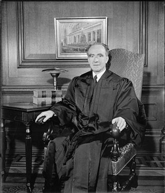 Frank Murphy - U.S. Supreme Court Justice Frank Murphy, former Attorney General, Feb. 1940