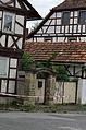 Farm estate, courtyard portal