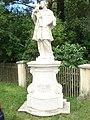 Königshof, statue of Saint John of Nepomuk.jpg