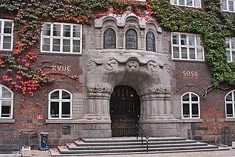 Københavns Belysningsvæsen - The main entrance towards Vognmagergade