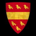"""K-045-Coat of Arms-BEAUCHAMP-Walter de Beauchamp (""""Watiers de Beauchamp"""").png"""