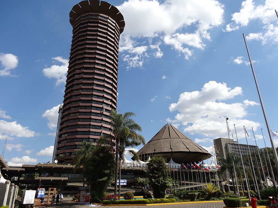 Kenyatta International Conference Centre in Nairobi, Kenia