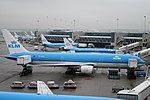 KLM - Royal Dutch Airlines Boeing 767-306-ER PH-BZK (21463996598).jpg