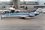 "KLM - Royal Dutch Airlines McDonnell Douglas DC-9-32 PH-DOB ""City of Santa Monica"" (26932688945).jpg"