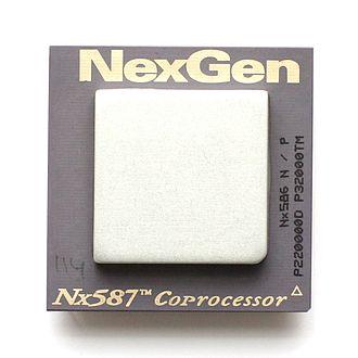 NexGen - A NexGen Nx587 FPU.