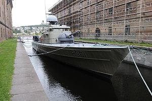 Storm-class patrol boat - Image: KNM «Blink»