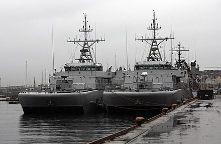 HNoMS Otra and HNoMS Hinnøy