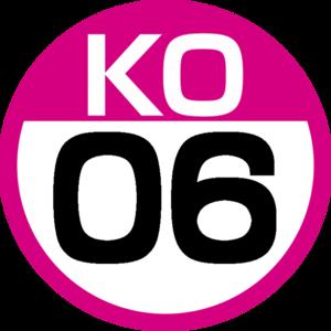 Meidaimae Station - Image: KO 06 station number
