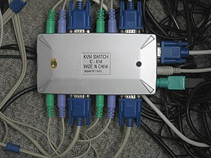 KVM switch - KVM switch