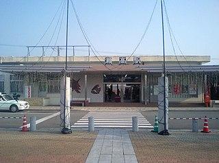 Setaka Station railway station in Miyama, Fukuoka prefecture, Japan