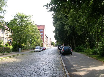 Zwischen Werftstraße und Johannsenweg