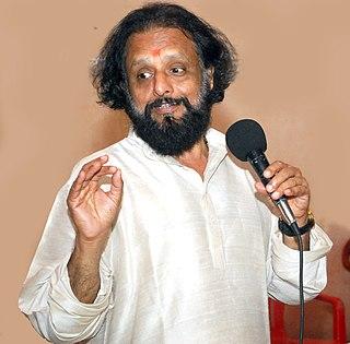 Kaithapram Damodaran Namboothiri Indian lyricist and poet