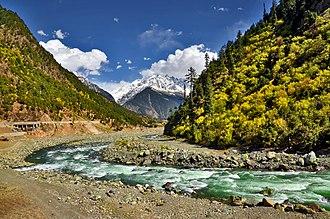 Kalam Valley - Image: Kalam, Swat (Pakistan)
