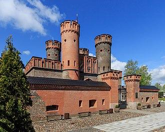 Fort Friedrichsburg - Fort Friedrichsburg in modern Kaliningrad