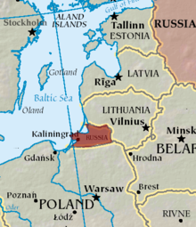 Kaliningrad Simple English Wikipedia The Free Encyclopedia