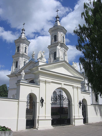 Kalvarija, Lithuania - Church in Kalvarija
