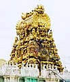 Kamakshi Amman Temple with golden roof, Kanchipuram.jpg