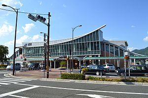 Kameoka Station - Kameoka Station in August 2015