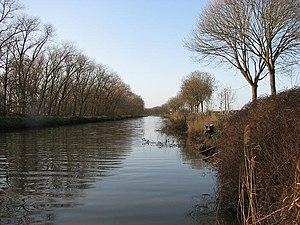Ieperlee - The Ieperlee, near Fort Knokke