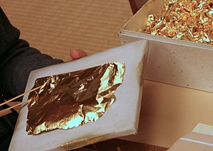 Metal leaf - Metal leaf processing