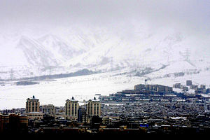 Karaj in winter - January 2008