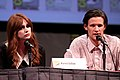 Karen Gillan and Matt Smith at the 2011 San Diego Comic-Con International.jpg