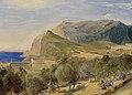 Karl Blechen - Blick auf den Monte Castiglione in Capri - 2309 - Staatliche Kunsthalle Karlsruhe.jpg