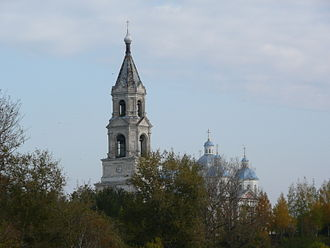 Kashin (town) - The Resurrection Cathedral in Kashin