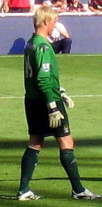 Kasper Schmeichel - Schmeichel playing for Manchester City in 2007