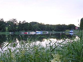 Kastelholm Castle - Boats on the fjord of Kastelholm