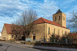 Sennfeld - St. Elisabeth church in Sennfeld, 2012
