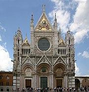 Kathedrale Siena Fassade