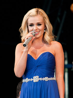 A Christmas Carol (Doctor Who) - Welsh singer Katherine Jenkins makes her acting debut in the episode.