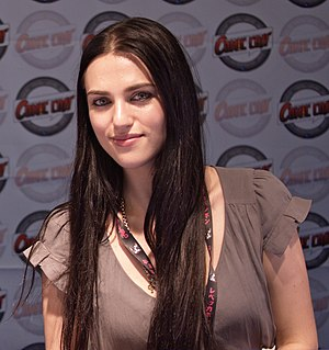 Lena Luthor - Katie McGrath at Comic Con France 2010.