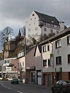 Katzenelnbogen Place in Rhineland-Palatinate, Germany