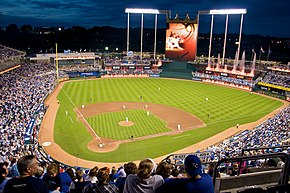 Kauffman Stadium at night, 2009.jpg