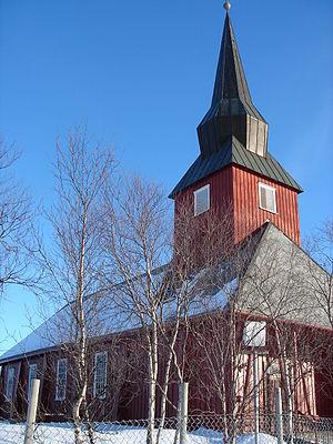 Kautokeino Church - Image: Kautokeino kirke