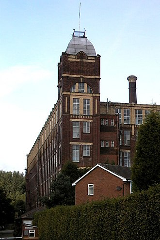 Kearsley - Kearsley Mill, a former textile mill at Stoneclough.