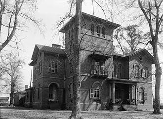 Kenworthy Hall - Front elevation of Kenworthy Hall in 1934.
