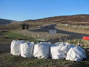 Snaefell Mountain Course - Keppel Gate and Keppel Park showing the 2015 landscaping.