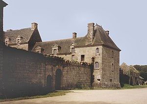 Brélès - The Chateau of Kergroades