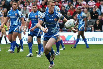 Kevin Brown (rugby league, born 1984) - Brown playing for Huddersfield