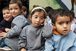 300px Kindergarten kids at a public school in Montevideo%2C Uruguay Should You Teach Lies to Protect Your Beliefs?